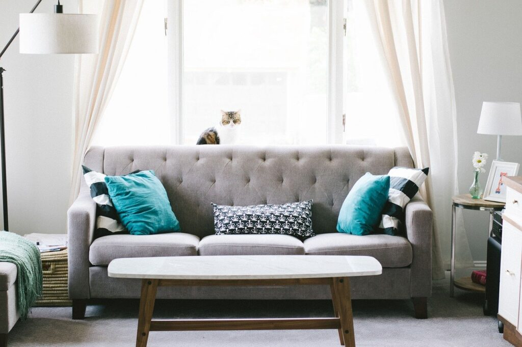 living room, sofa, couch